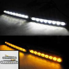 8 LED luci diurne freccia DRL PER TOYOTA YARIS AURIS AVENSIS