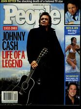 Johnny Cash & John Ritter Tribute Issue People Magazine Sept 29 2003