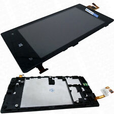 Replacement LCD Touch Screen Digitizer Glass Chassis Frame for Nokia LUMIA 520