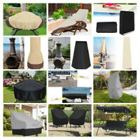 Waterproof Chair Cover Dust-proof Patio BBQ Grill Swing Seat Furniture Protector