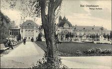 Bad Oeynhausen Ravensberger Mulde ~1910 Königliches Kurhaus Kurpark Parkanlage
