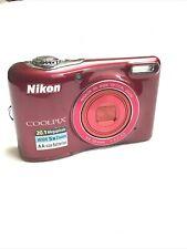 Nikon COOLPIX L32 20.1MP Digital Camera - Red