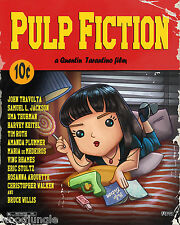 PULP FICTION MOVIE POSTER SIGNED  ARTIST CHILD'S ROOM WALL ART BOY GIRL