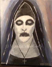Vyckie Van Goth art Valik The Conjuring The NUN PRINT