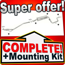 Mercedes Vito (638) 108 2.3 Diesel Without CAT 96-00 Silencer Exhaust System 768