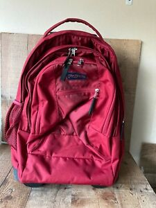 JanSport Driver 8 Core Series Wheeled Backpack - Red