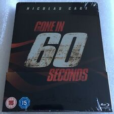 Gone In 60 Seconds Steelbook - UK Exclusive Limited Edition Blu-Ray *Region Free