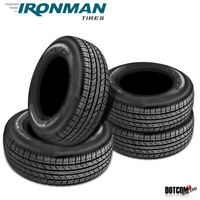 4 X New Ironman RB-SUV 235/55R18 100H IRON RB SUV Tires