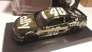 2020 JIMMIE JOHNSON #48 ALLY PATRIOTIC 1/24 COLOR CHROME ELITE #35 of 56 made
