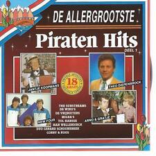 CD album DE ALLERGROOTSTE : PIRATENHITS ( 1 ) SUNSTREAMS WIKO'S MIGRA'S