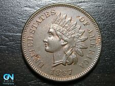 1867 Indian Head Cent Penny  --  MAKE US AN OFFER!  #B4499