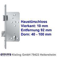 Haustürschloss 40 45 50 55 65 70 80 90 100 mm Dorn 92 PZ Schloss Stulp 20-22-24