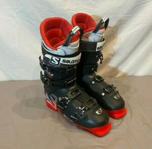 Salomon XMAX 100 Ski Boots My Custom Fit 3D Liners MDP 27.5 US Men's 9.5 GREAT