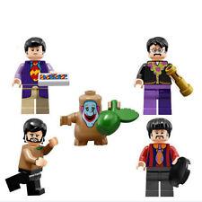 The Beatles Minifigure set Custom Band toy Movie set Yellow Submarine figures