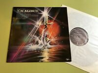 Music Film EXCALIBUR & Other Selections LP '81 soundtrack OST wagner orff rare!