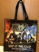 KISS 2019 live tour End of the road Japan official goods tote bag Limited Vinyl