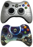 2 Official Xbox 360 Wireless Controllers Halo Reach & 3 Limited Collector Items