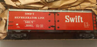 HO scale Athearn SWIFT Refrigerated Boxcar Metal Unique vintage weathered