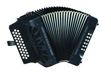 Hohner Compadre EAD MI Acordeon Accordion Black +GigBag,Straps,BackPad & T-Shirt