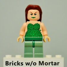 New Genuine LEGO Poison Ivy Minifig DC Super Heroes 7785