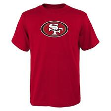 San Francisco 49ers NFL Youth Boys' Red Logo Graphic T-Shirt Large 14/16