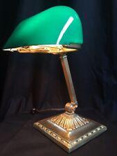 Antique Emeralite Desk Lamp Green Cased Shade #8734- Unused New Stock