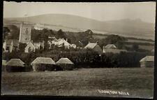 Ilsington near Newton Abbot # 5211A by Chapman & Son. Hayricks.
