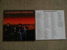 Lude LaFayette's Wolfsmond  LP washed /gewaschen  incl. Insert with Lyriks