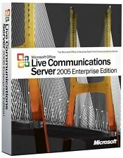 Microsoft Office Live Communications Server 2005 Enterprise A9R-00005 New Sealed
