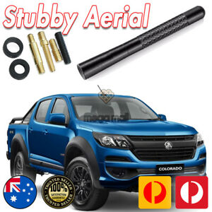 Antenna / Aerial Stubby Bee Sting for Holden Colorado Z71 RG Black Carbon 12CM