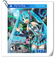 PSV HATSUNE MIKU: PROJECT DIVA F 2ND JAPANESE SONY PlayStation VITA Music SEGA