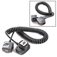 Viltrox SC-30 Cordon Flash TTL Câble Extension pour Appareil Photo DSLR Nikon