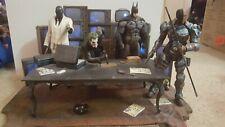 Batman Arkham Origins Collectors Edition Joker Statue figures Deathstroke lot