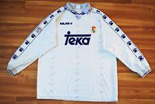 REAL MADRID HOME FOOTBALL SHIRT 1994-1996 JERSEY CAMISETA MAGLIA LONGSLEEVE XL