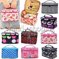Womens Travel Cosmetic Toiletry Bag Makeup Casual Organizer Storage Pouch Case