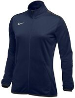 NIKE Women's Epic Training Full Zip Jacket sz S Small Navy Blue Anthracite Top
