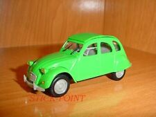 CITROEN 2CV 6 2-CV 6 GREEN TUILERIES 1974 1:43 MINT!!!