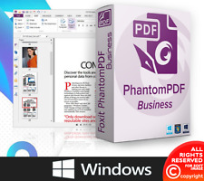 Foxit PhantomPDF 10 Business Lifetime version For 🔥 Windows 🔥