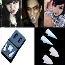 4PCS Simple Cool Vampire Fangs Tooth Halloween Fancy Dress Costume Accessory FT