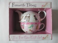 Tea For One Porcelain teapot  Gift Set by Creative Tops.