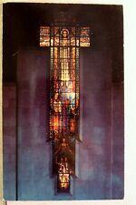 Texas TX San Antonio Travis Park Methodist Church Loring Window Postcard Old PC