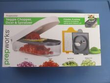 Progressive Veggie Chopper, Dicer & Spiralizer #GPC-3682  NEW