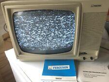 More details for vintage portable tv ferguson 38030 prop