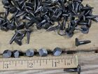 """5/8"""" Rose head 40 nails square wrought iron vintage rustic Decorative historic"""