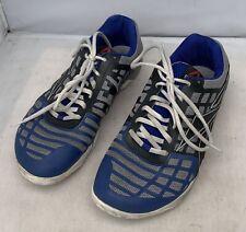 Reebok Mens Crossfit Nano 3.0 CF74 Training Shoes Blue Black Gray Size 9.5 US