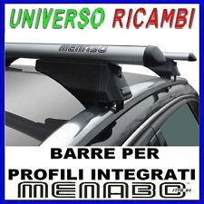 Barre Portatutto con  Profili integrati TIGER SILVER 120 SEAT Ibiza IV ST 2012>