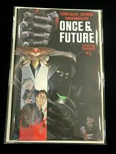 ONCE AND FUTURE #1 Boom! Studios First Print Hot New Comic Book Kieron Gillen