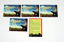 Lot of (5) 1994 Skybox Disney's The Lion King Series 2 Promo Card Nm/Mt