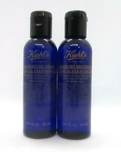 Lot/2 Kiehl's Midnight Recovery Botanical Cleansing Oil ~ 2.87 oz ( See Descript
