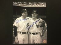 Mickey Mantle & Joe DiMaggio Autographed 8x10 Photo, GFA Certified